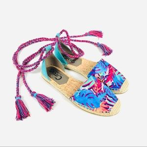Circus by Sam Edelman Lenora espadrilles tie up